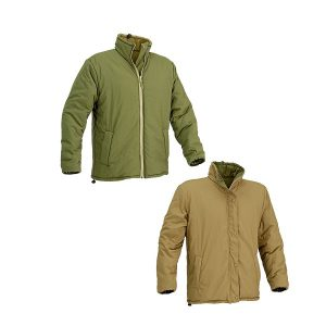 Defcon5 Reversible Jacket Groen-Tan